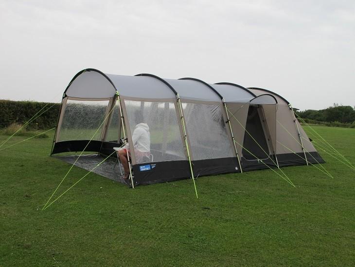 & Kampa Croyde 6 Family Tunnel Tent