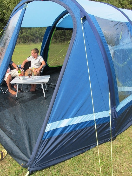 Kampa Filey 5 AirFrame Tent Package from Kampa for £1,625.00