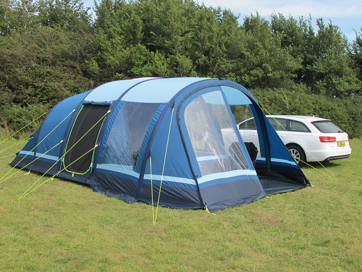 & Kampa Filey 5 AirFrame Tent Package