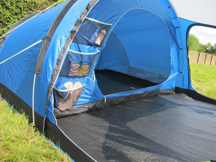 kampa mersea 4 tent. Black Bedroom Furniture Sets. Home Design Ideas