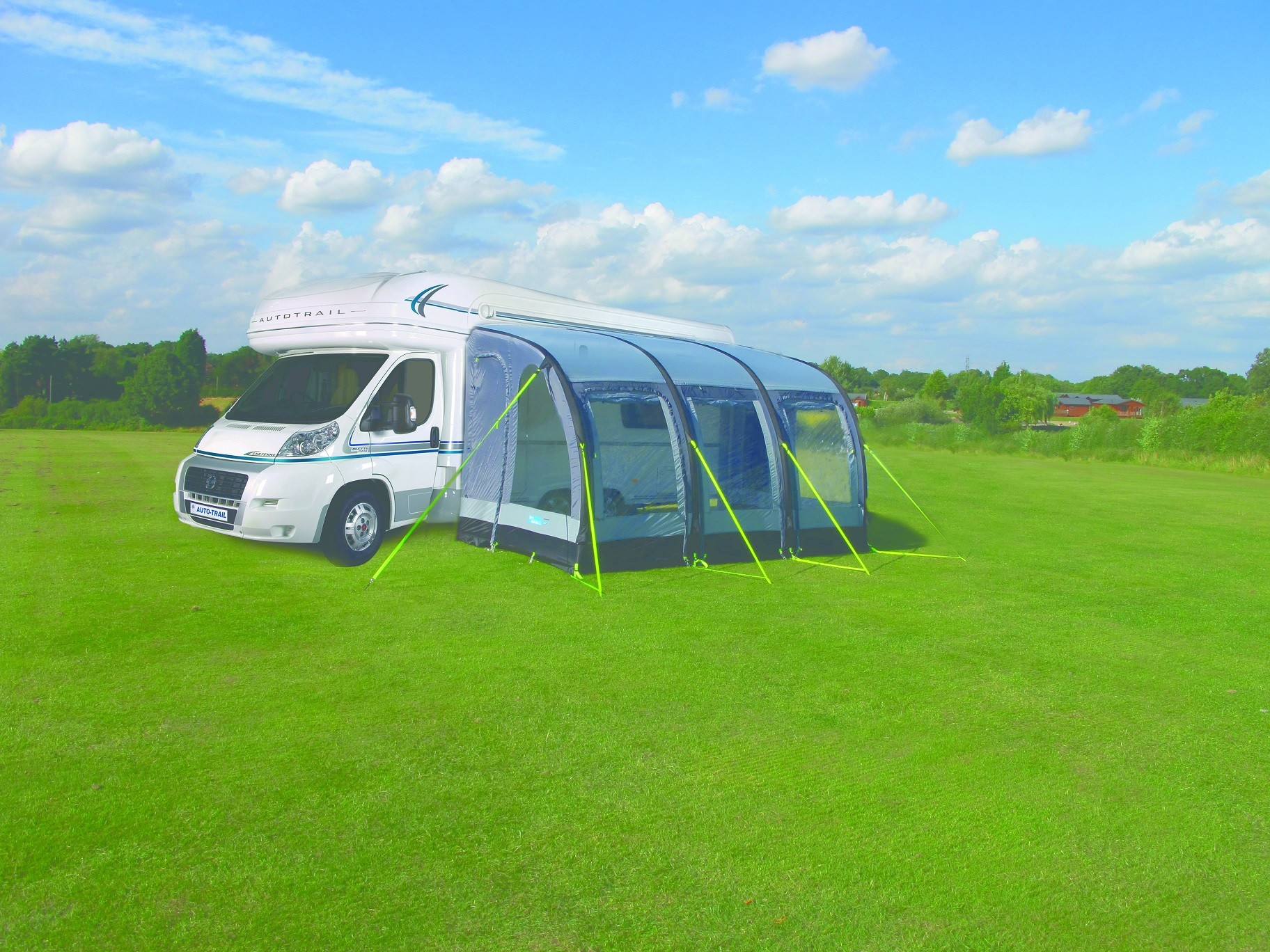 Kampa Motor Rally Air 390 Xl Motorhome Awning By Kampa For