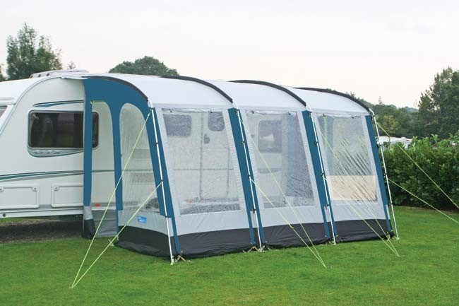 Kampa Rally 390 Caravan Porch Awning from Kampa for £410.00