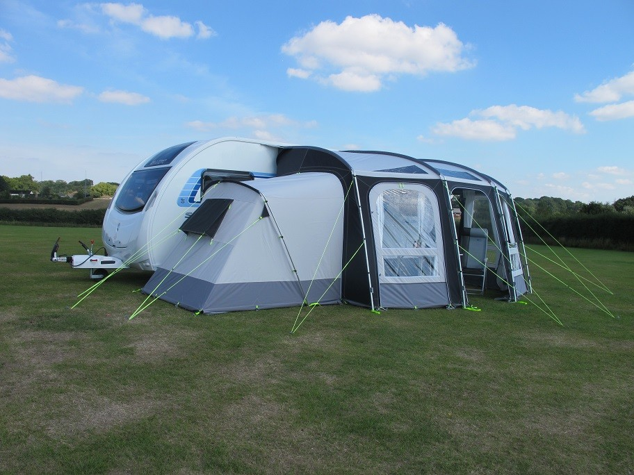 Kampa Rally Ace Porch Awning Annexe By Kampa For 163 260 00