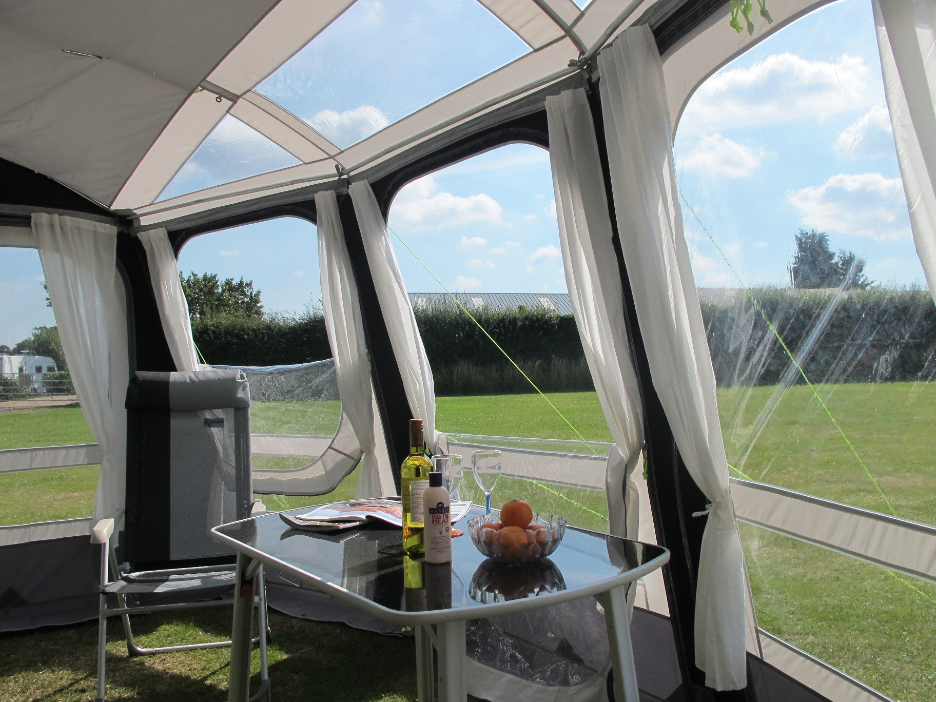 Kampa Rally Ace 390 Caravan Porch Awning From Kampa For 163