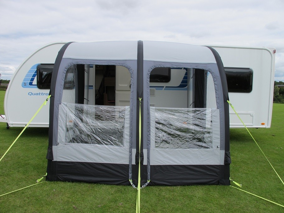 Kampa Rally Air 260 Caravan Porch Awning From Kampa For 163