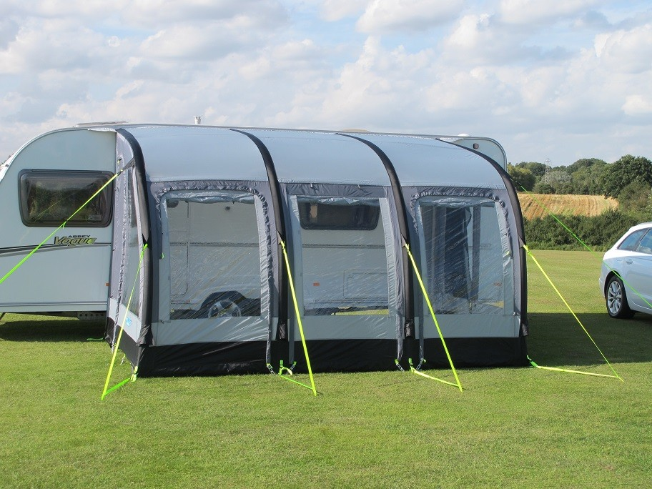Kampa Rally Air 390 Caravan Porch Awning From Kampa For 163