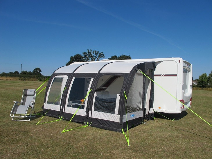 Kampa Rally Air Pro 390 Caravan Porch Awning from Kampa ...