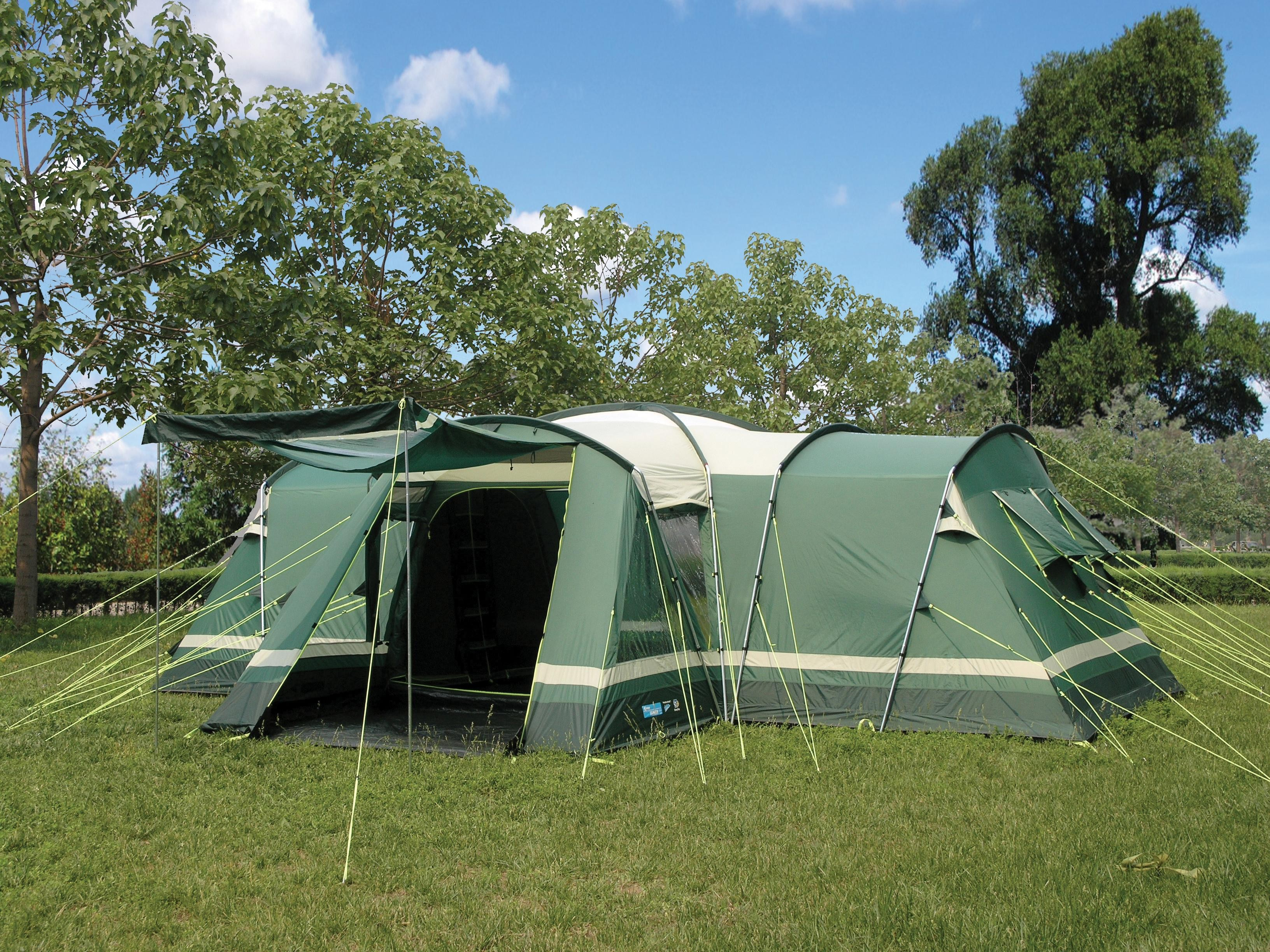 & Kampa Tenby 8 Family Tunnel Tent