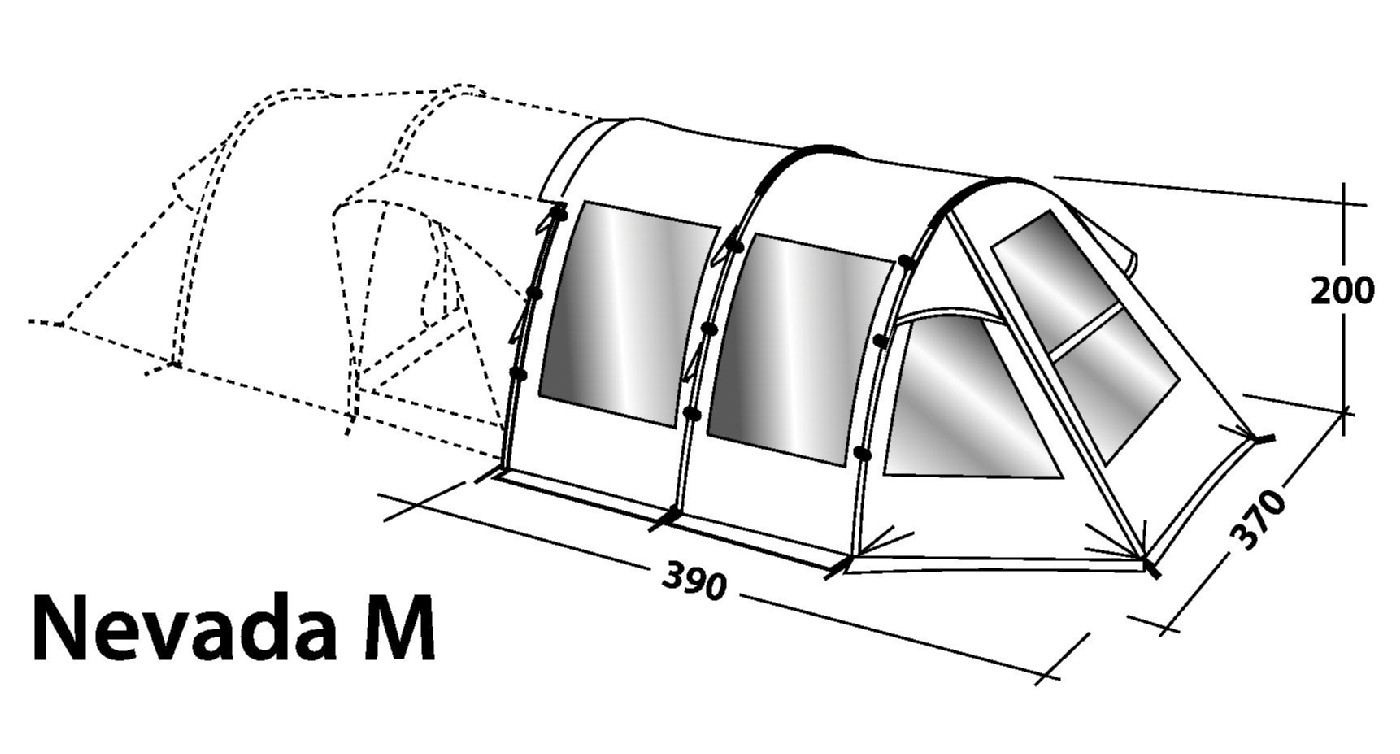 sc 1 st  Outdoor Megastore & Outwell Nevada M u0026 XL Front Awning