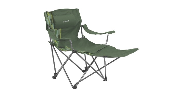 Outwell Windsor Hills Reclining Camp Chair Green From