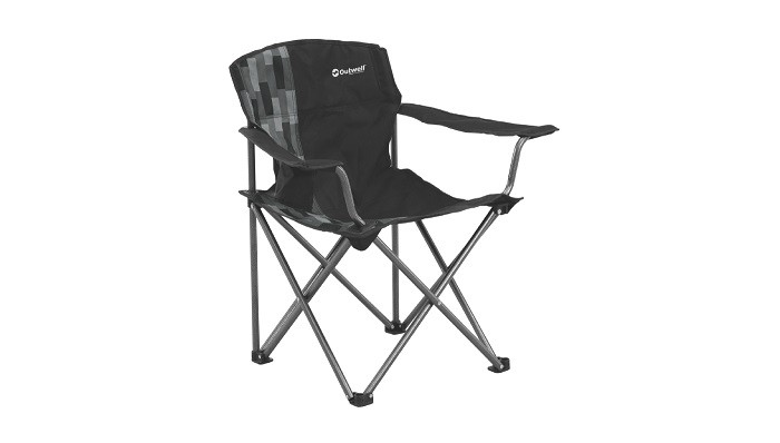 Attirant Save 14% Outwell Woodland Hills Camp Chair   Black