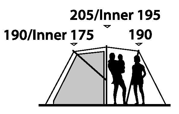 sc 1 st  Outdoor Megastore & Outwell Birdland 3 Tent