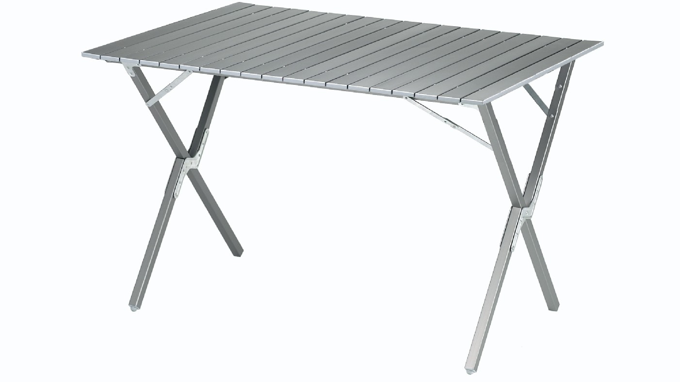 outwell halifax l aluminium camp table from outwell for. Black Bedroom Furniture Sets. Home Design Ideas