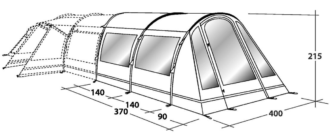 sc 1 st  Outdoor Megastore & Outwell Montana 6 Front Awning