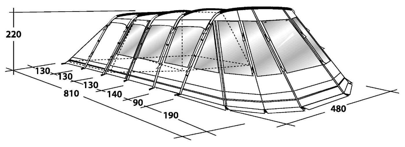 Outwell Vermont Xlp Tent By Outwell For 163 1 200 00
