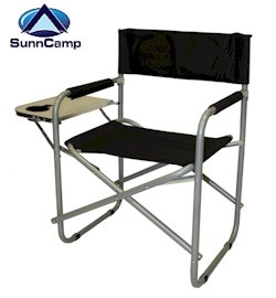 Sunncamp Directors Chair With Side Table Camping Furniture Camping