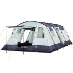CampFeuer - Spacious Family Tent, 580x410x210 cm, blue