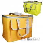 The Magic Toy Shop Large 30L Insulated Cool Bag Camping Picnic Cooler Box Travel Lunch Ice Food