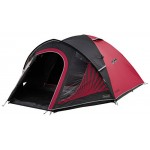 Coleman Unisex The Black Out 3 Tent, Black and Red, 330x200x130 cm