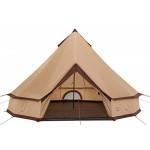 GRAND CANYON Indiana - round tent ( 8-person tent), beige, 602019