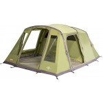 Vango Odyssey Inflatable Family Tunnel Tent, Epsom Green, Airbeam 500