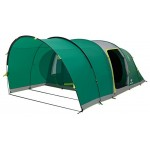 Coleman Inflatable Tent Valdes 4, 4 man Camping tent with air poles, 4 person air tent, Family blow up tent with BlackOut Bedroom Technology, 100% waterproof with sewn in groundsheet