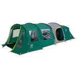 Coleman Pinto Mountain 5 Plus XL Blackout 5 Man Tunnel Tent Green + Free Event Shade L (3.65m x 3.65m)
