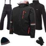 Dare2b Inspiration Men's Ski Wear Package - Black