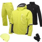 Dare2b Inspiration Men's Ski Wear Package - Lime Punch