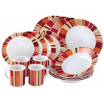 Gelert 4-Person Melamine Dining Set