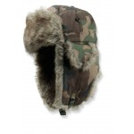 Gelert Darwen Men's Camo Trapper Hat