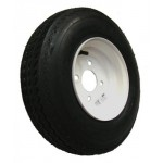 "Maypole 400x8"" Spare Wheel and Tyre for Trailer MP712"