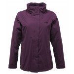 Regatta Preya 3 in 1 Women's Waterproof Jacket - Purple Grape