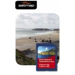 Satmap Brecon Beacons & Pembroke Coast 1:25k & 1:50k Map Card