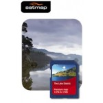 Satmap National Parks Premium - Lake District 1:25k & 1:50k Map Card