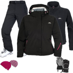 Trespass Kayley Women's Ski Wear Package