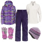 Trespass Dipity Girl's Ski Wear Package