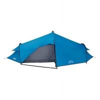 Vango Bravo 300 Three Man Tunnel Tent-Blue, 3 Person