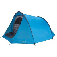 Vango Waterproof Voyager 400 Outdoor Tunnel Tent available in Blue - 4 Persons