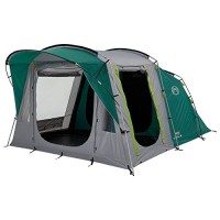 Coleman Unisex Oak Canyon 4 Tent, Green and Grey, One Size