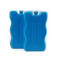 Blue 2 pack Reuseable Freeze Board Ice Blocks 200 Grams Cooler Blocks ideal for a Picnic ice blocks for cool bags lunch boxes cool boxes