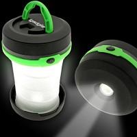 Green Pop-up Flashlight Lantern
