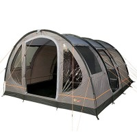 Portal Outdoor Gamma 5 Spacious Tunnel Tent, Fibreglass Poles, Two Entrances with Large Bedroom and Living Area, Sleeps up to 5 People - Includes Free Storage Bag