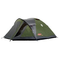 Coleman Weatherproof Darwin Outdoor Dome Tent available in Green - 4 Persons