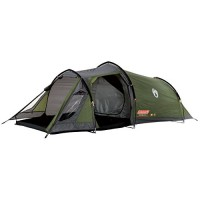 Coleman Waterproof Tasman Outdoor Tunnel Tent available in Green - 2 Persons