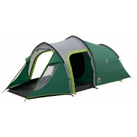 Coleman Unisex Chimney Rock 3 Plus Tent, Green and Grey, One Size