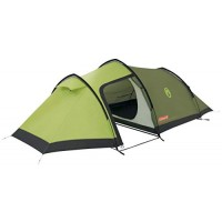 Coleman Caucasus 3 Outdoor Backpacking Tent available in Green - 3 Persons