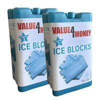 Value 4 Money Freezer Blocks Cools & Keeps Food Fresh 6 pack
