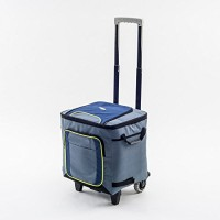 Polar Rolla Cool bag with trolley picnic box on wheels 41 litre 72 can festival camping sports cooler