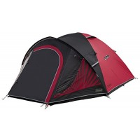 Coleman Unisex The Black Out 4 Tent, Black and Red, 340x260x140 cm
